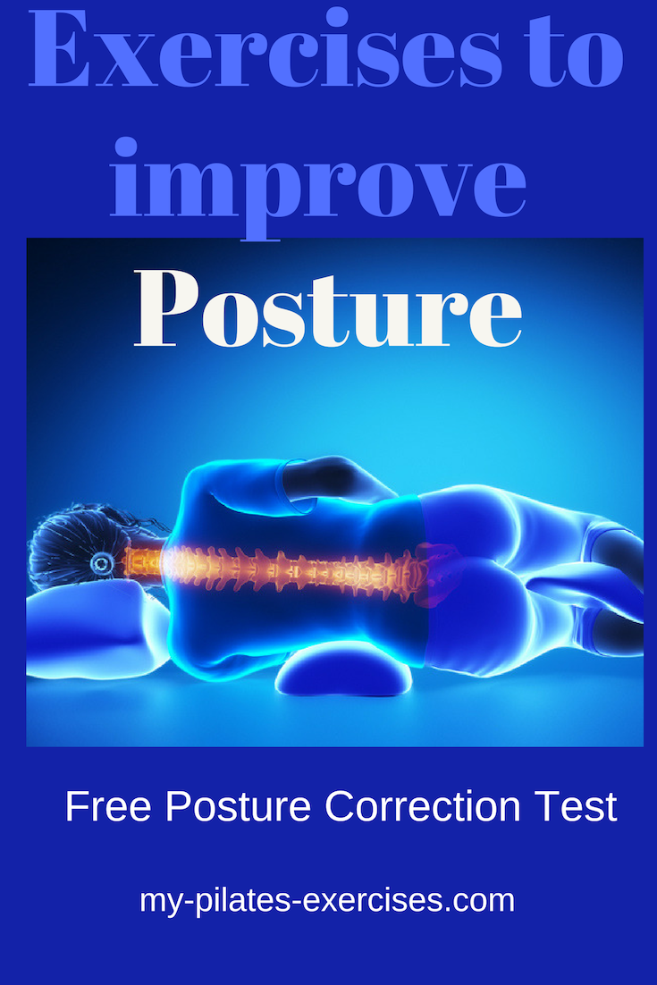 Posture Correction Exercises:  Simple exercises and stretches to improve your stance & how good you look....