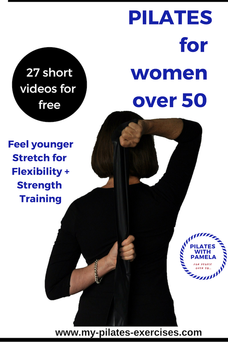 Strength Training Exercises for people Over 50 using a Resistance Band.