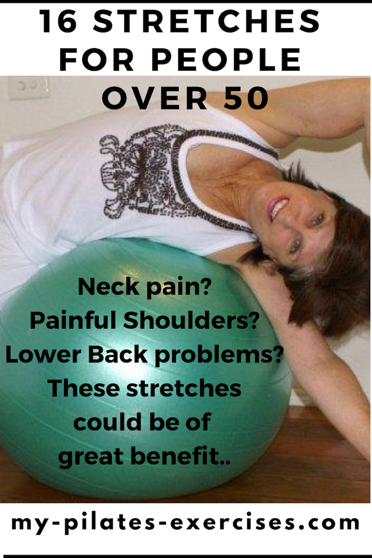 Benefits of stretching for Seniors: PICS & VIDEOS all muscle stretches are FREE here. Improve  flexibility, posture and balance as you work towards a pain-free life......
