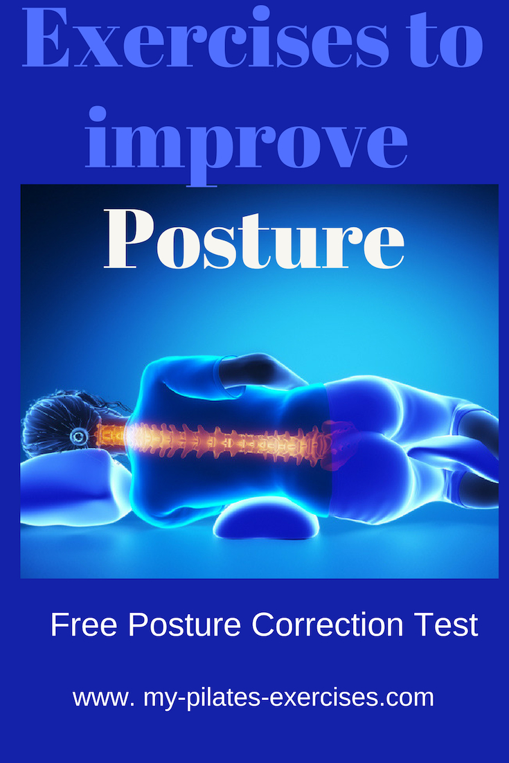 Exercise to improve Posture  - FREE Posture Checkup for those wishing to know how to walk tall, feel good and look great.......