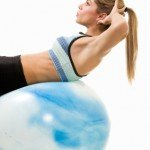 Core Exercise with Ball