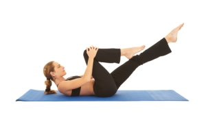 Abdominal Exercise on Mat